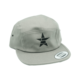 grey jockey cap