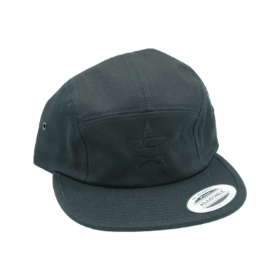 black jockey cap